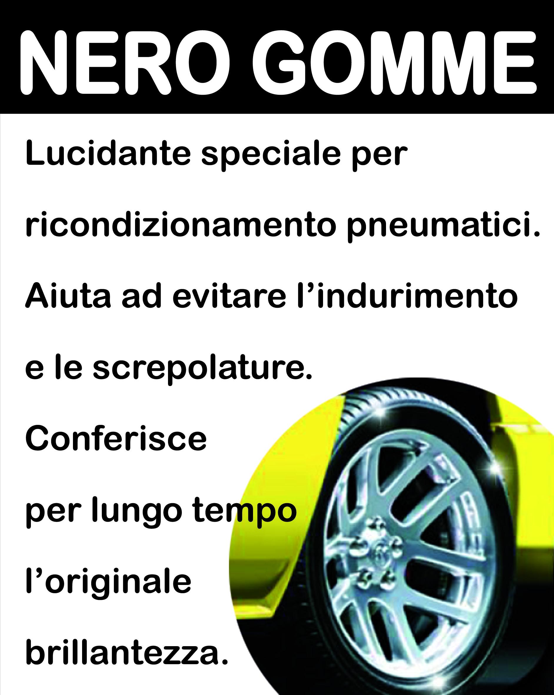 NERO-GOMME
