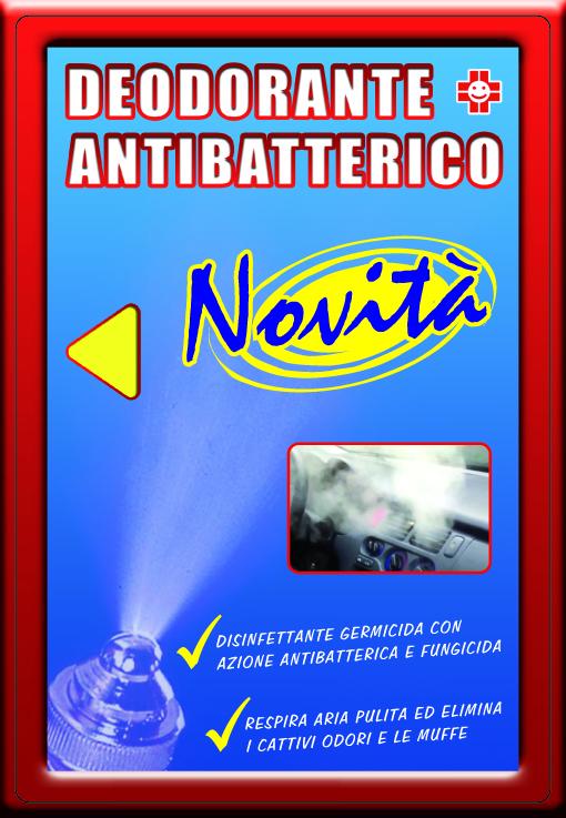 Deodorante antibatterico