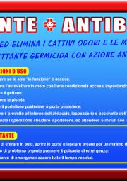 Deodorante e Antibatterico
