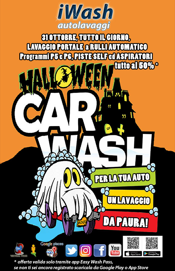 halloweenWASH