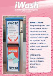 Distributore panno carta sintetica
